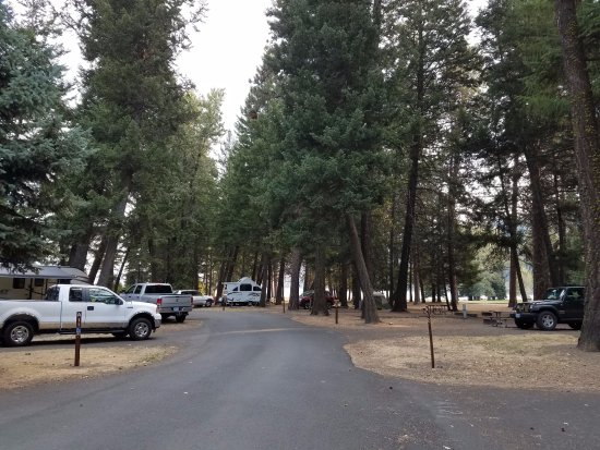 Joseph, OR: Wallowa State Park campground