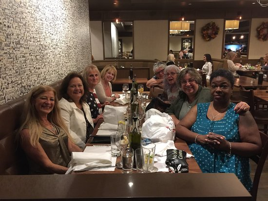 Commack, NY: Friends breaking bread and sharing memories