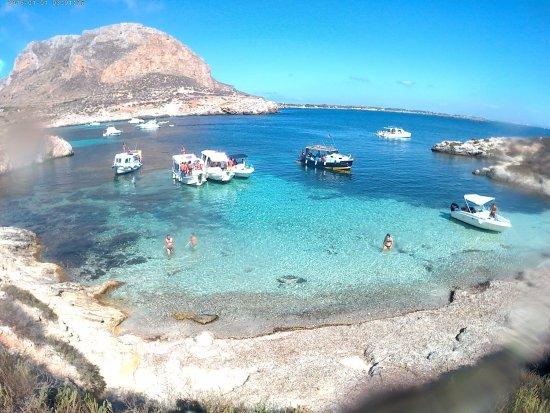 Favignana in Barca Con Salvo