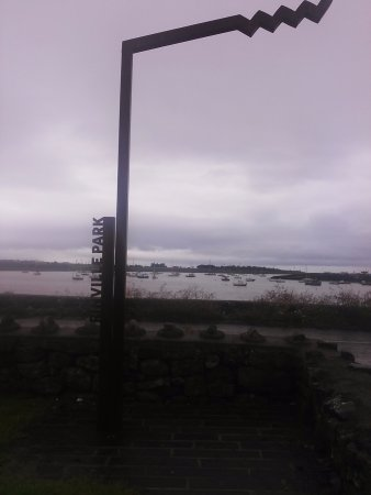 Oranmore, Irland: Rinville Park WAW Discovery Sign