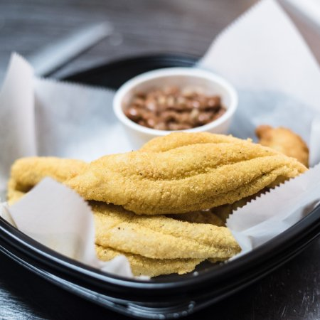 North Little Rock, AR: Nothing better than Catfish and Beans togo!