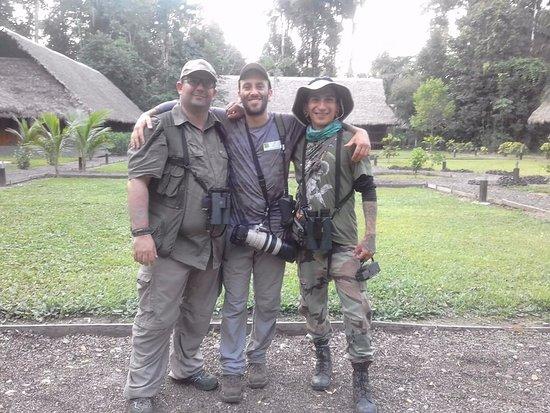 Inkaterra Ecological Reserve : Buen lugar, excelentes compañeros de viaje