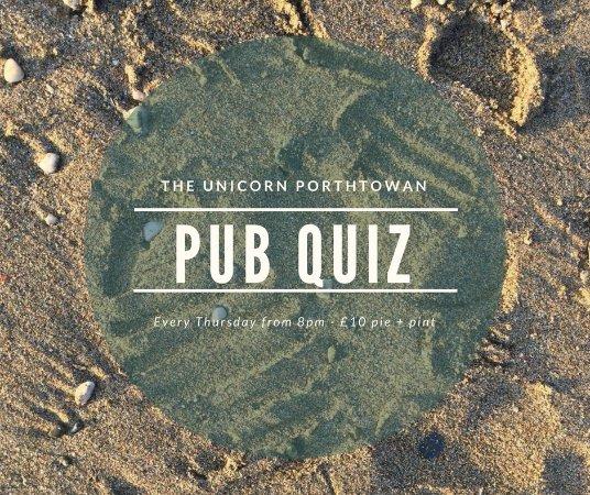 Porthtowan, UK: Every Thursday..