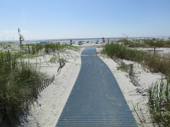 Folly Beach, Güney Carolina: Easy path