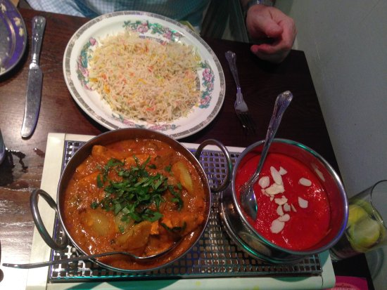 Food glorious food picture of akash cinderford for Akash indian cuisine
