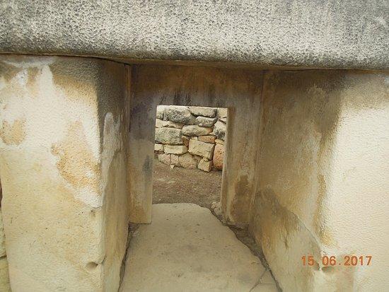 Tarxien, Malta: Doorway