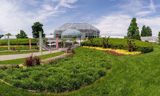 Phipps Conservatory and Botanical Gardens: Welcome Center, Photo © Paul g. Wiegman