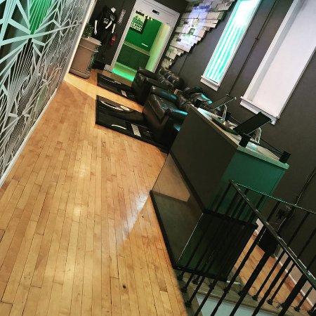 Verona, Pensilvania: Puzzle Room Pittsburgh's main lobby
