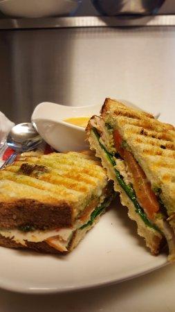 McFarland, WI: SPECIAL! Turkey Pesto Panini