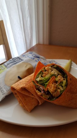 McFarland, WI: SPECIAL! Buffalo Chicken Wrap