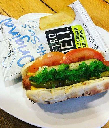 MCFARLAND HOUSE CAFE : SPECIAL! Chicago Dog