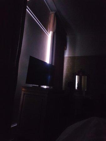 San Clemente Palace Kempinski: Not blackout curtains