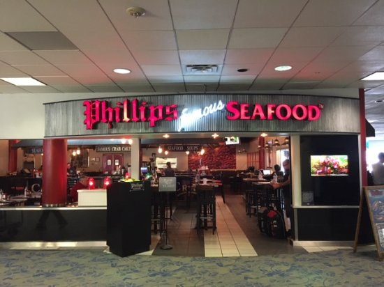 Phillips Seafood At Charlotte Airport Picture Of Phillips