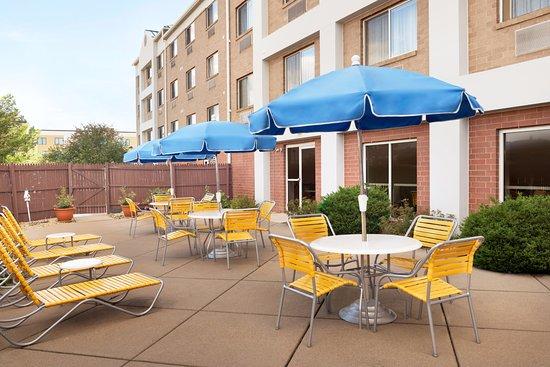 Outdoor Patio At Fairfield Inn Suites Minneapolis Bloomington Mall