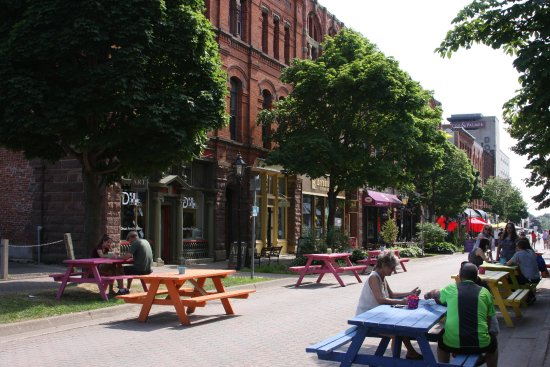 Charlottetown, Canada: The block Province House is on is interesting in its own right.