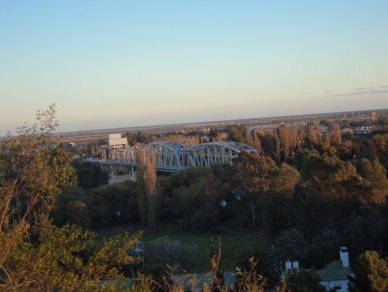Carmen de Patagones, Argentina: Atardecer desde el Cerro de la Caballada