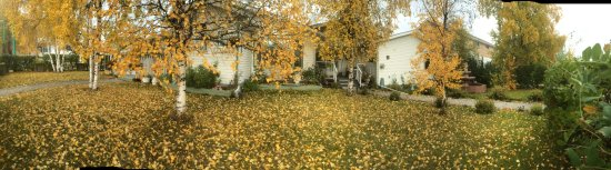 Embleton House Bed and Breakfast: A view of Embleton House in the fall