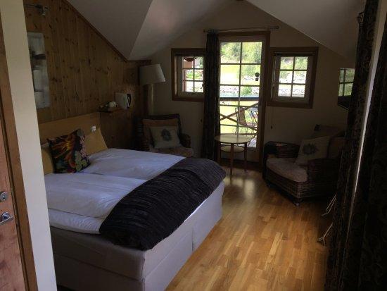 Flamsbrygga Hotell: Our room