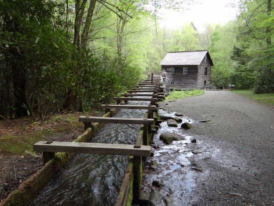 Great Smoky Mountains National Park, NC: Mill race