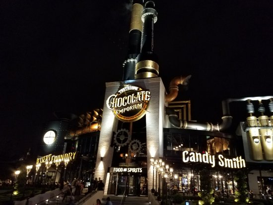 Universal Orlando The Kitchen Chocolate Emporium Dinner Reviews