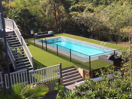 Sunshine Coast, Australia: The pool area