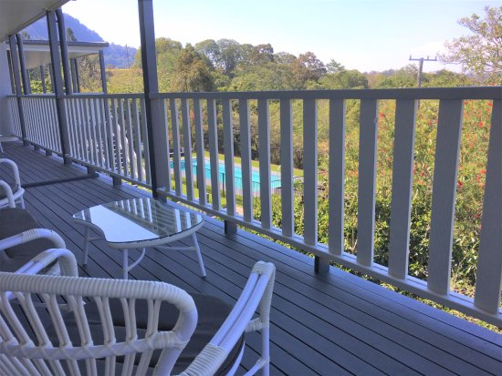 Sunshine Coast, Australia: Suite 1 back veranda