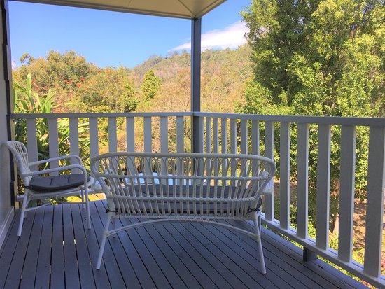 Sunshine Coast, ออสเตรเลีย: Suite 1 front veranda