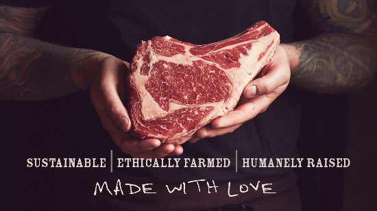 Marshall, VA: Sustainable. Ethically farmed. Humanely raised. Made with love.