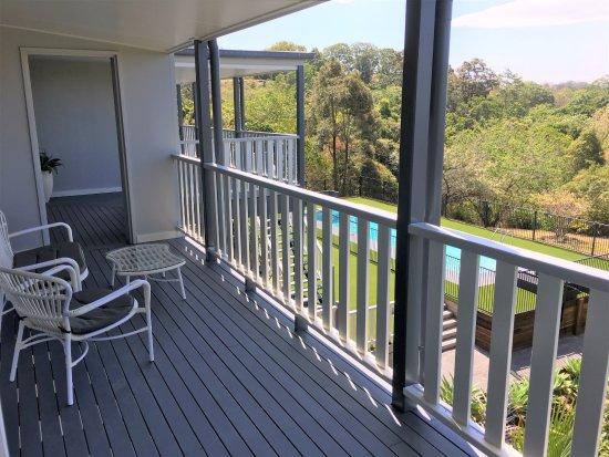 Sunshine Coast, ออสเตรเลีย: Suite 2 back veranda