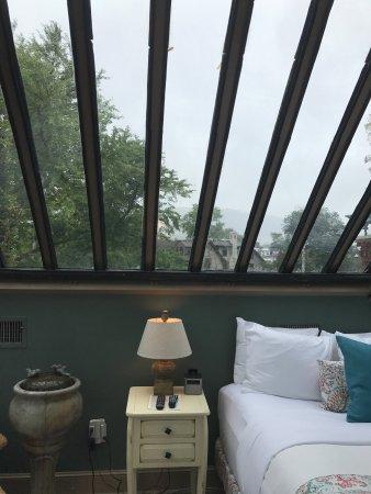 Betlehem, PA: Conservatory room in the Sayre Mansion Inn