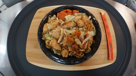 Kazoku Japanese Express: Chicken Yakisoba