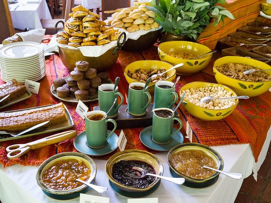 Inkaterra Machu Picchu Pueblo Hotel: Breakfast