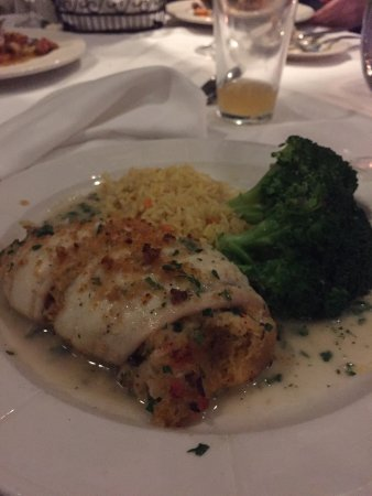 2 Mahi dinners, Lobster crabmeat stuffed flounder
