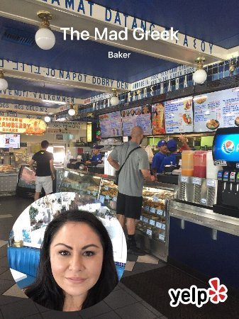 Baker, CA: The Mad Greek