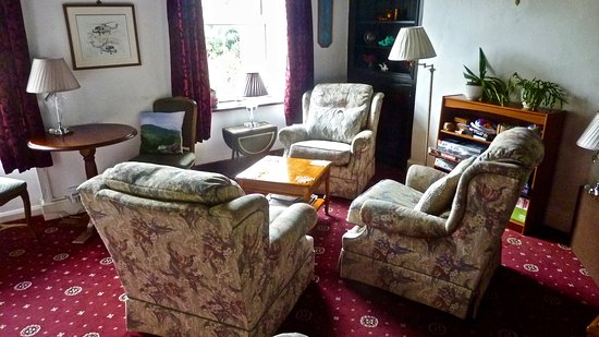 Bryn Eglwys Country House Hotel: Lounge area