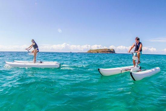 Guldkusten, Australien: Seaway Water Bike Tours, Gold Coast.