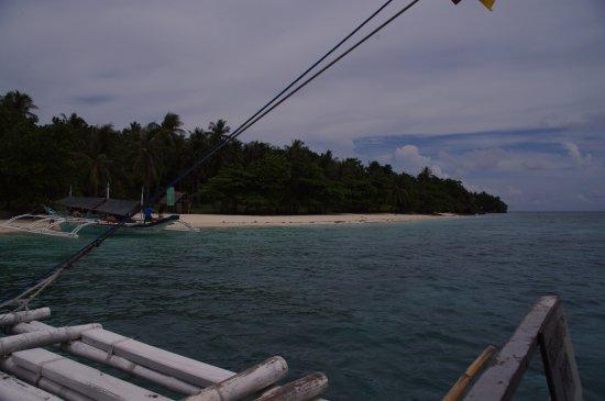 Approaching Mahaba Island, Cuatro Islas, Inopacan