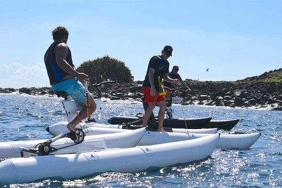 Water Bike adventures, Gold Coast.