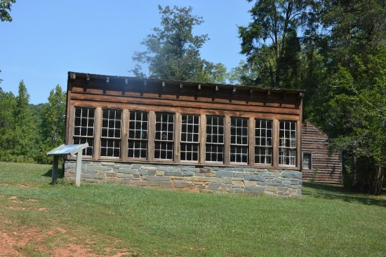 Morrow Mountain State Park: Dr. Korn's Greenhouse. Grew Oranges in NC
