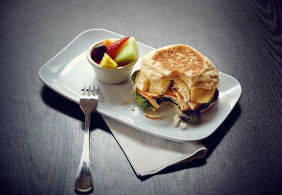 Denton, Τέξας: Healthy Start Breakfast Sandwich