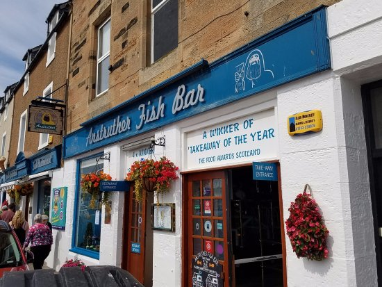 Anstruther, UK: The Fish Bar