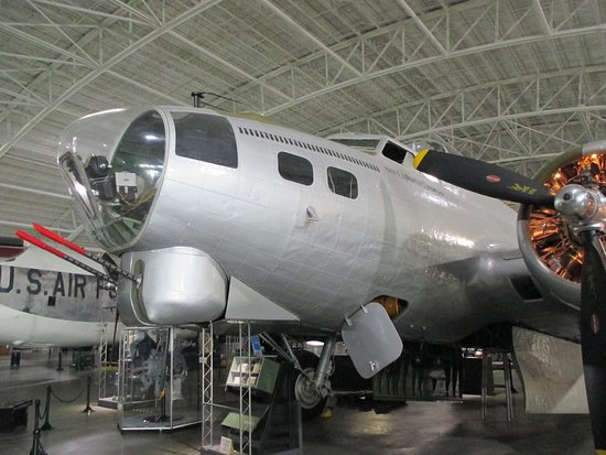 Ashland, Νεμπράσκα: Nose of B-17 Flying Fortress