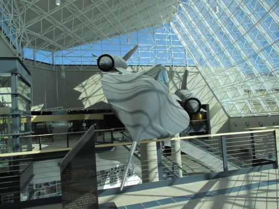 Ashland, NE: SR-71 greeting you in the lobby