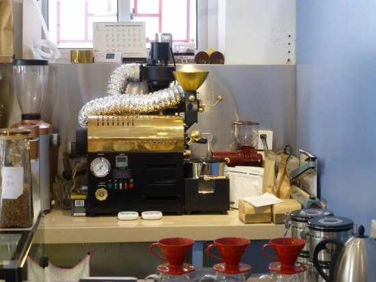Oasis Cafe: The coffee roaster