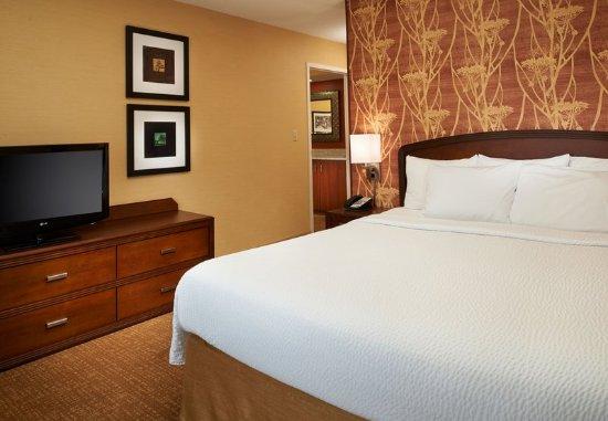 Novi, MI: Suite - Sleeping Area
