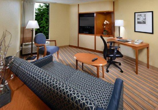 Hopewell, Virginie : Suite Living Area