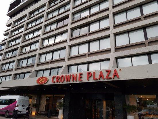 Crowne Plaza Geneva: frnte hotel crowne plaza