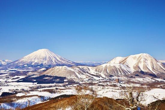 Rusutsu-mura, Giappone: Winter, Panorama View