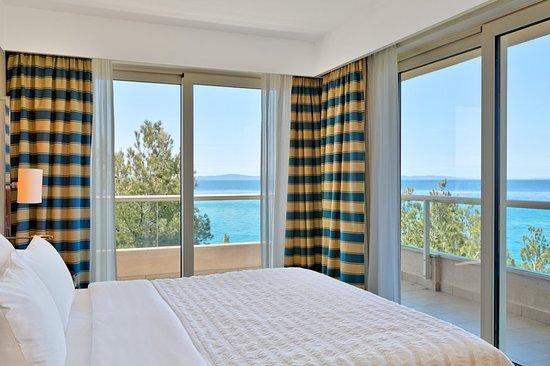 Podstrana, Kroatien: Diplomatic suite bedroom