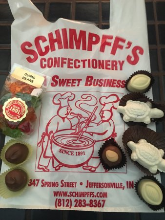 Schimpffs Confectionery: Candy from Schimpff's.